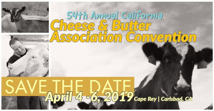 California Cheese and Butter Convention and Events Save the Date Cape Rey Carlsbad California Marriott Hilton Rewards